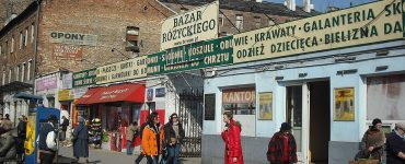 Рынок Bazar Różyckiego в Варшаве