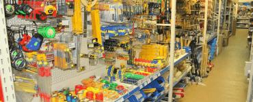 Строительный магазин Rebutr II в Тересполе