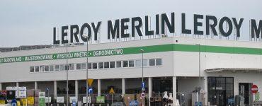 Строительный магазин Leroy Merlin в Белостоке