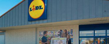 Супермаркет Lidl в Ольштыне