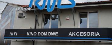 Магазин аудио-видео техники RMS в Белостоке
