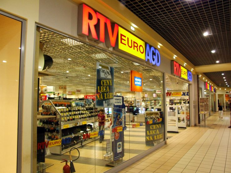 RTV EURO AGD в Белостоке — магазин компьютерной и бытовой техники