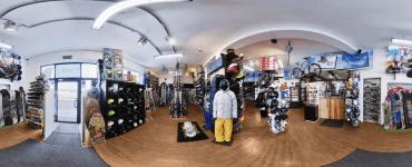 Спортивный магазин Snow Shop в Варшаве