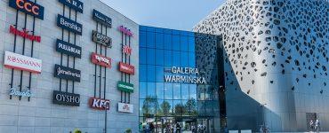 Торговый центр Galeria Warminska в Ольштыне