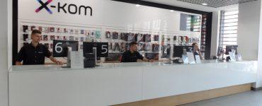 Магазин бытовой техники x-kom в Гданьске