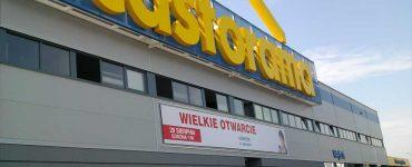 Строительный магазин Castorama в Кракове