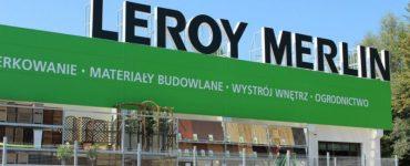 Строительный магазин Leroy Merlin в Кракове
