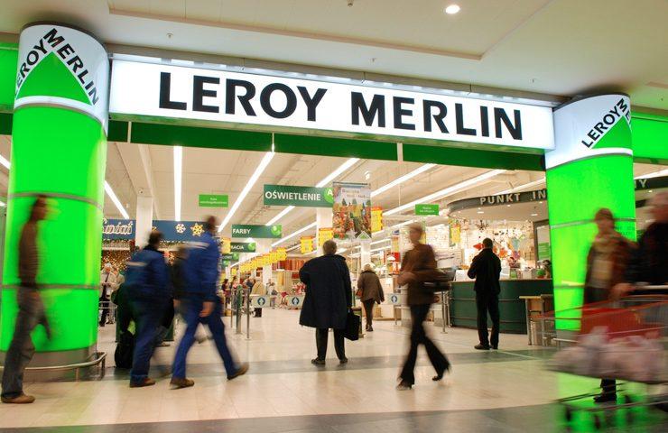 строительный магазин Leroy Merlin в варшаве